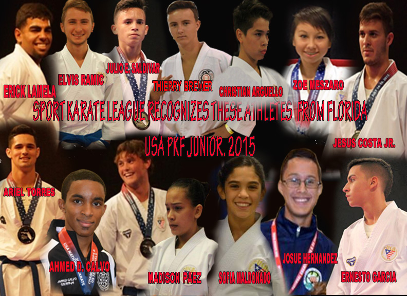 Florida-Karate-Junior Team